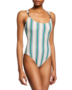 f54ee3a7e6844 Tory Burch Swimwear & Swimsuits at Neiman Marcus