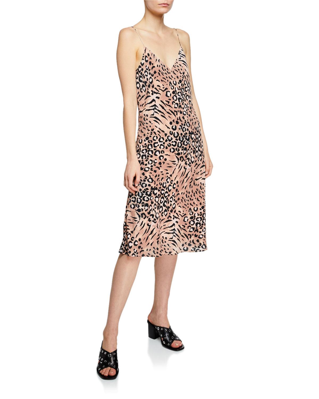 vestido de animal print para verano