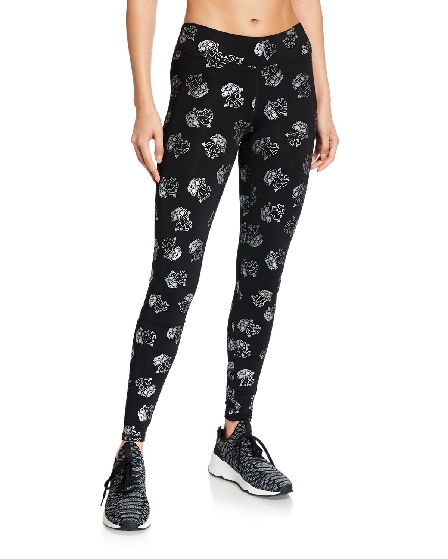 Terez Terez X Keith Haring Tall Band Leggings