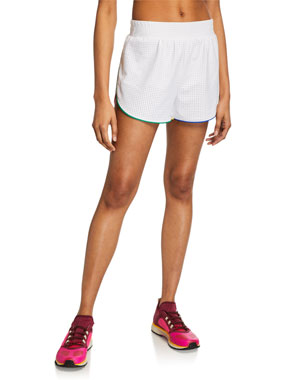 65a9b218bf Terez Pinhole Mesh Active Shorts
