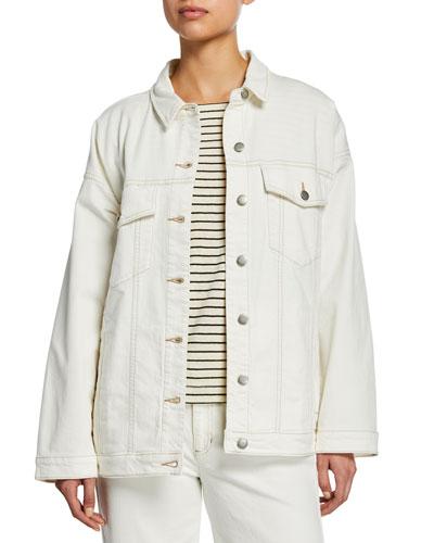 Oversized Denim Jean Jacket