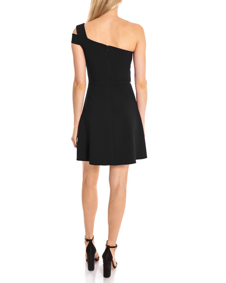 Likely Montgomery One-Shoulder Fit-&-Flare Cocktail Dress