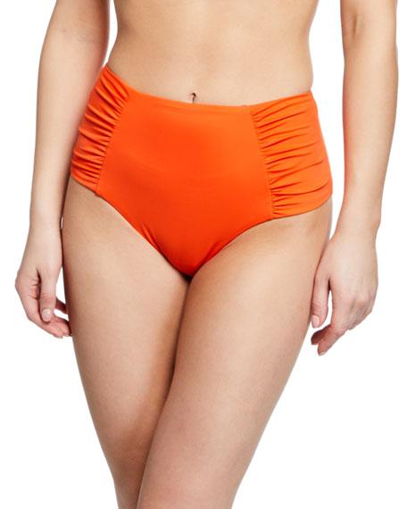 Verandah Taz High-Waist Bikini Bottom