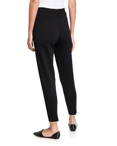 St. John Collection Milano Knit Ankle Pants