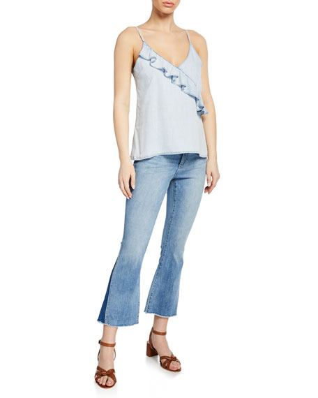 Image 3 of 3: DL1961 Premium Denim Bridget Mid-Rise Instasculpt Boot-Cut Jeans