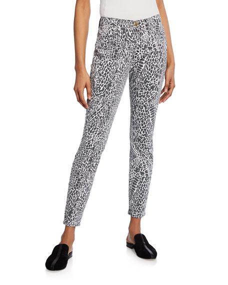 Frame Jeans LE HIGH SKINNY PRINTED JEANS