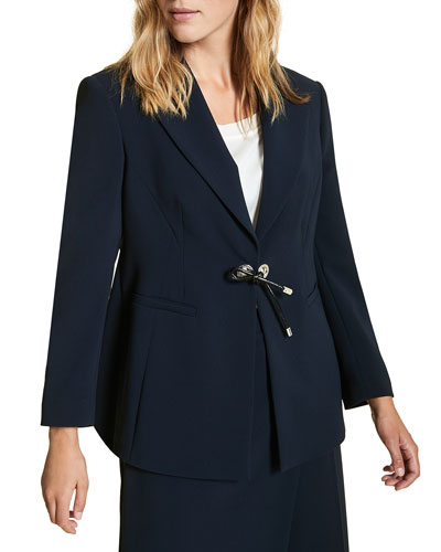 Plus Size Carnet Fitted Tricot Jacket