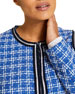 Marina Rinaldi Plus Size Calamaio Tweed Jacket
