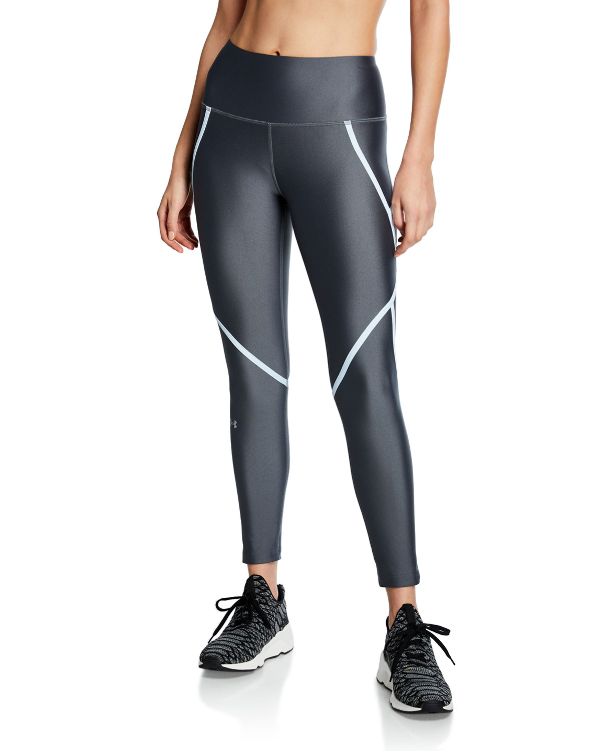 1b037f0d9447f Under Armour HeatGear Armour Ankle Crop Leggings | Neiman Marcus