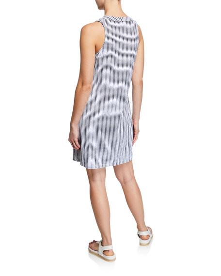 Tommy Bahama Island Cay Spa Lace-Up Tassel Pattern Dress