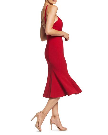 Dress The Population Tessa Halter-Neck Cocktail Dress