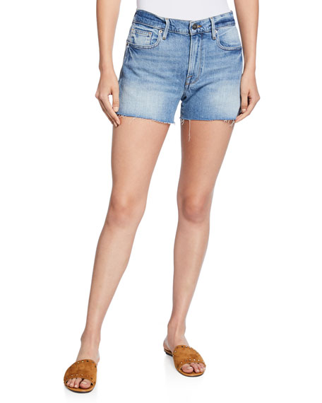 FRAME Le Brigette Cutoff Shorts