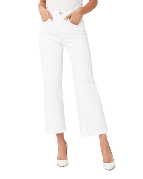 3x1 Aimee Wide-Leg Cropped Jeans
