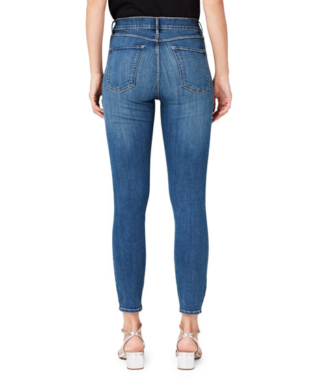 3x1 High-Rise Cropped Skinny-Leg Jeans