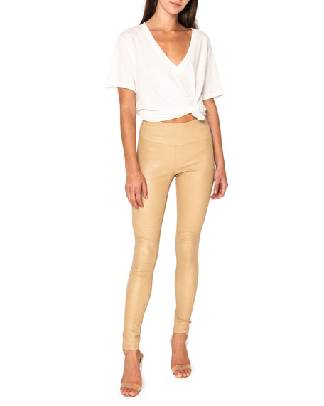 LaMarque Ama Skinny Leather Pants
