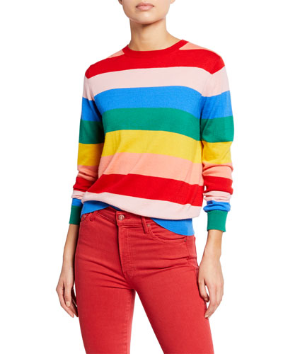 Day Dreamer Striped Cashmere Sweater