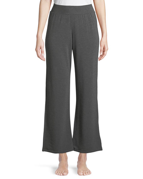 Majestic Paris for Neiman Marcus French Terry Wide-Leg
