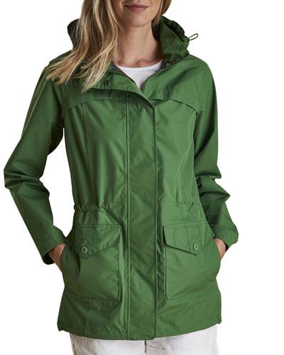 Dalgetty Waterproof Detachable-Hood Jacket