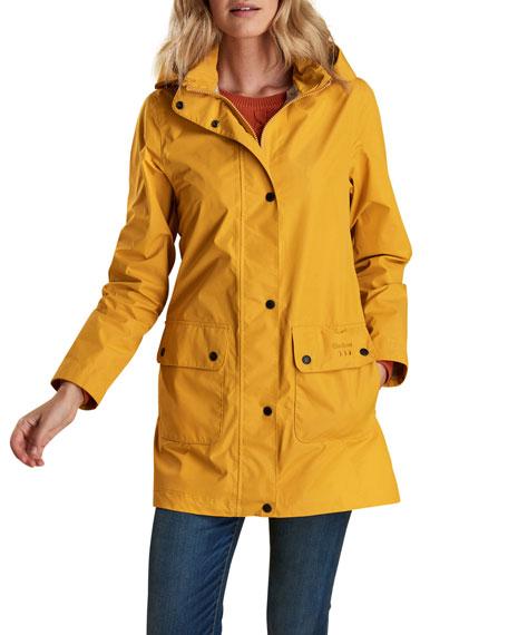 Barbour Inclement Waterproof Detachable-Hood Jacket