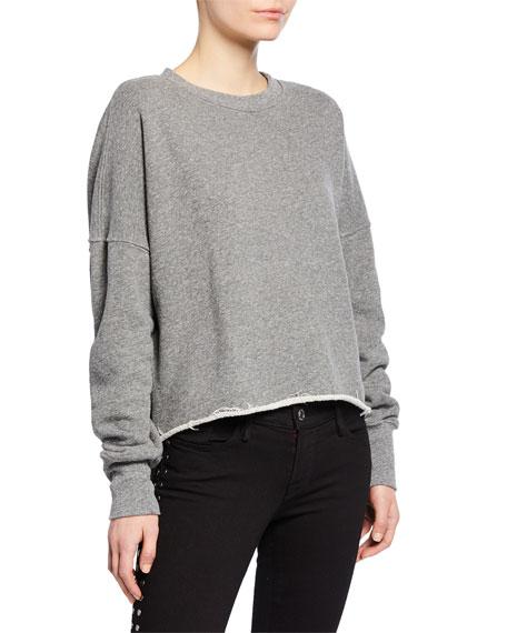Etienne Marcel High-Low Side Zip Sweatshirt