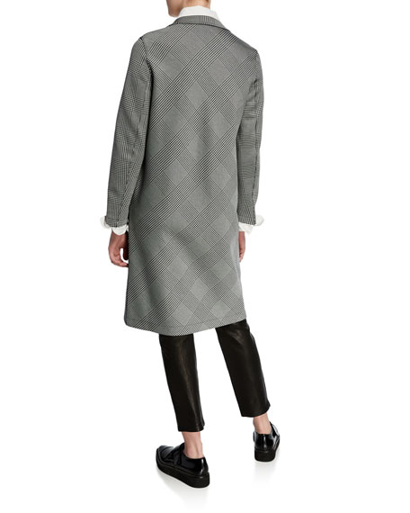 Harris Wharf London Prices Of Wales Mid-Length Overcoat