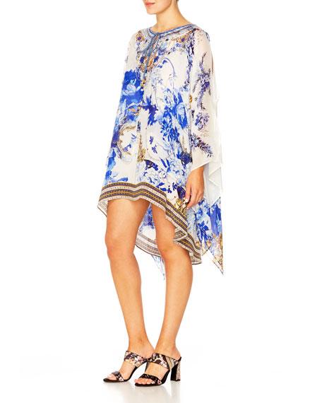 Camilla Sheer Layered Dress w/ Split