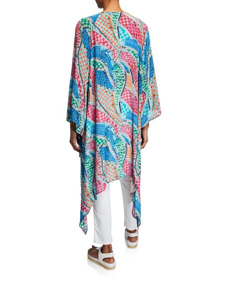 Tolani Ramina Printed Kimono Duster
