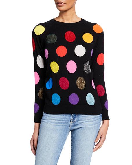 Replica Los Angeles Dot Intarsia Multi Color Sweatshirt