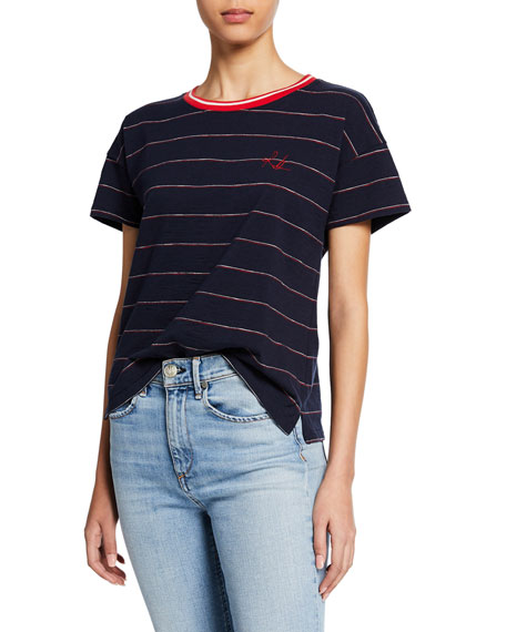 Rag & Bone Julien Striped Tee