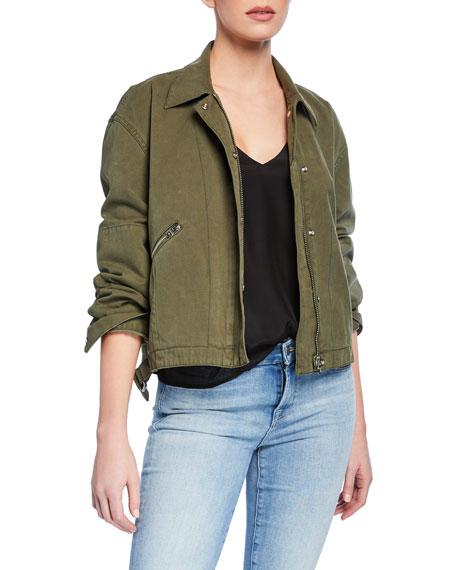 Rag & Bone Fleet Cotton Military Jacket