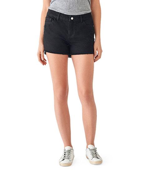 DL1961 Premium Denim Karlie Boyfriend Denim Shorts