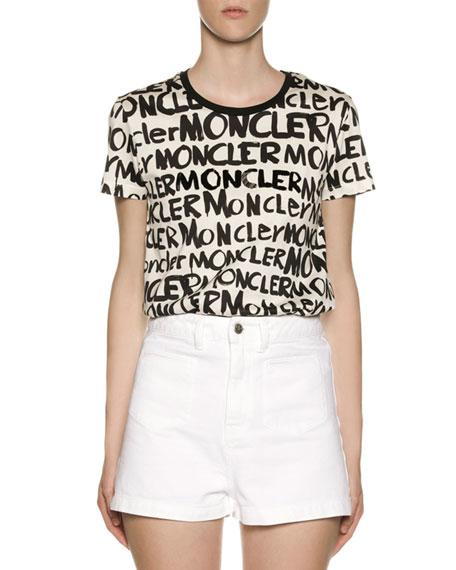 Moncler Graffiti Logo T-Shirt