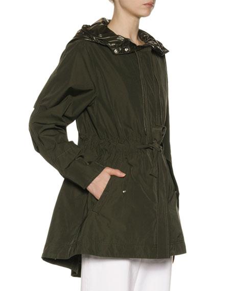 Moncler Mascate Semi-Fit Jacket w/ Contrast Hood