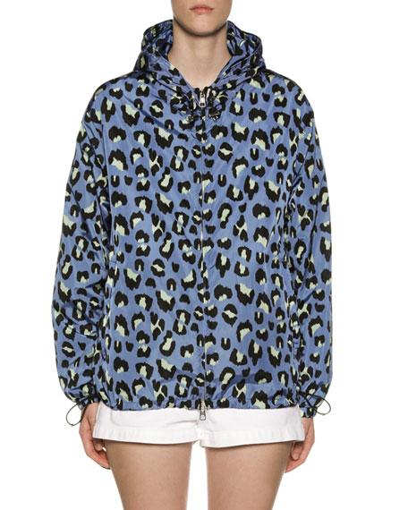 Moncler Cheetah Wind-Resistant Jacket