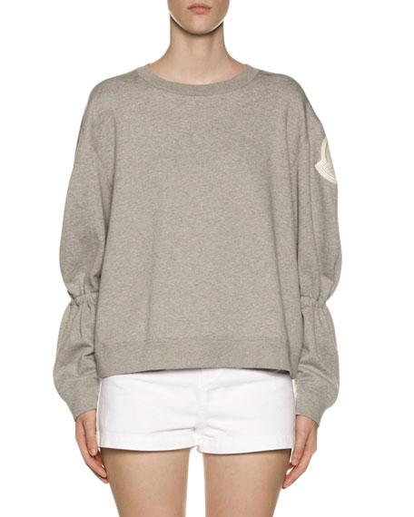 Moncler Logo-Sleeve Sweatshirt