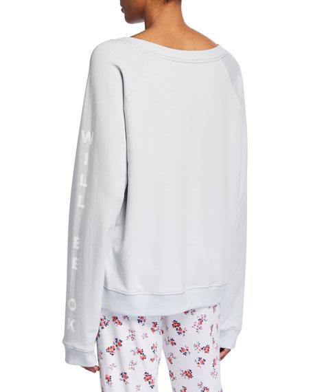 Spiritual Gangster Gemma Long Raglan Sweatshirt