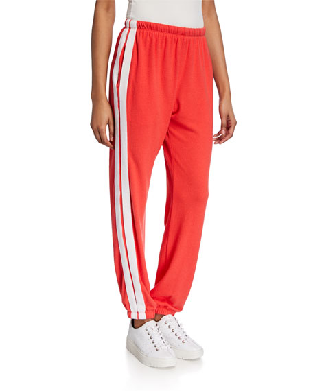 Spiritual Gangster Malibu Nights Side-Stripe Sweatpants