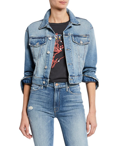 The Big Shorty Cropped Denim Jacket
