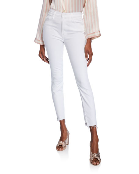 MOTHER The Stunner Two Step Fray Jeans