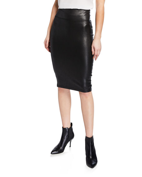 e496359a74 Spanx Faux-Leather Pencil Skirt | Neiman Marcus