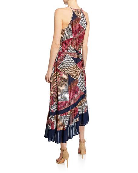 Ramy Brook Calliope Printed Halter Dress