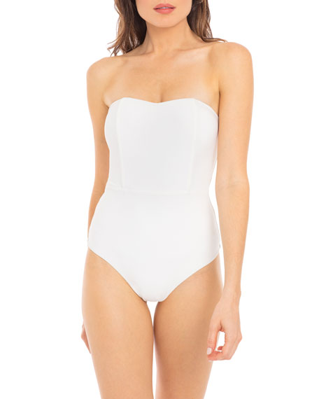 Revel Rey Marilyn Structured One-Piece Swimsuit
