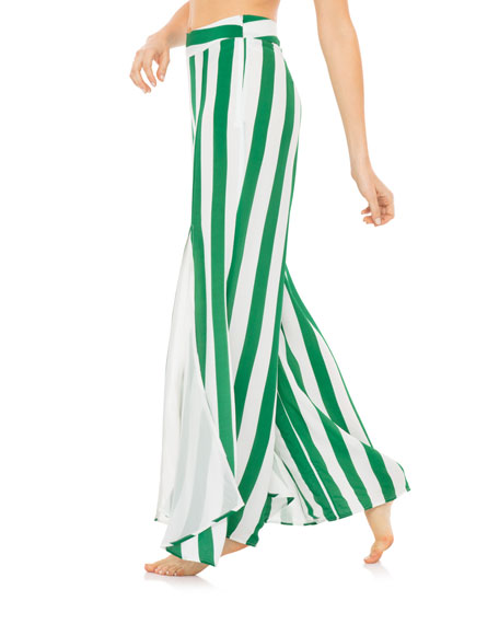 Revel Rey Kelly Striped Flared Sway Pants