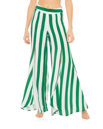 Kelly Striped Flared Sway Pants