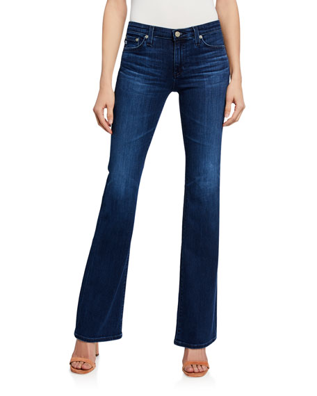 AG The Angel High-Rise Boot-Cut Jeans