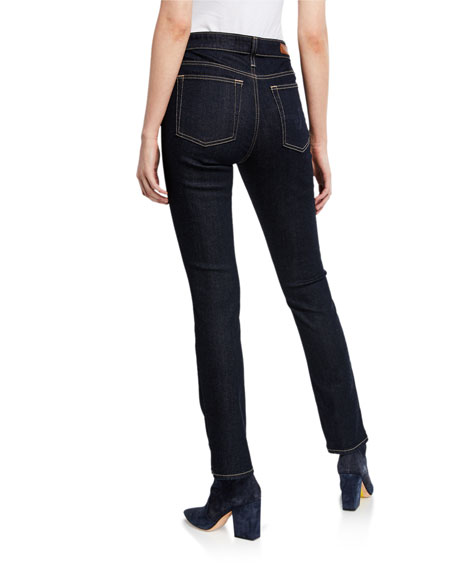 Image 2 of 3: AG Adriano Goldschmied Mari High-Rise Straight Jeans