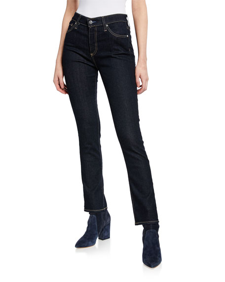 Image 1 of 3: AG Adriano Goldschmied Mari High-Rise Straight Jeans