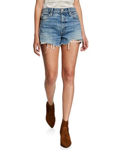 Loverboy High-Rise Cutoff Shorts