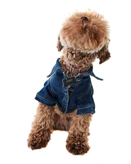 DL1961 Premium Denim Fido Canine Trucker Jacket