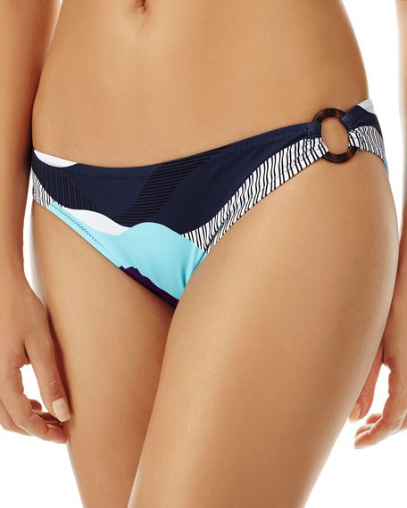 Vilebrequin Ostende Printed Hipster Bikini Bottom